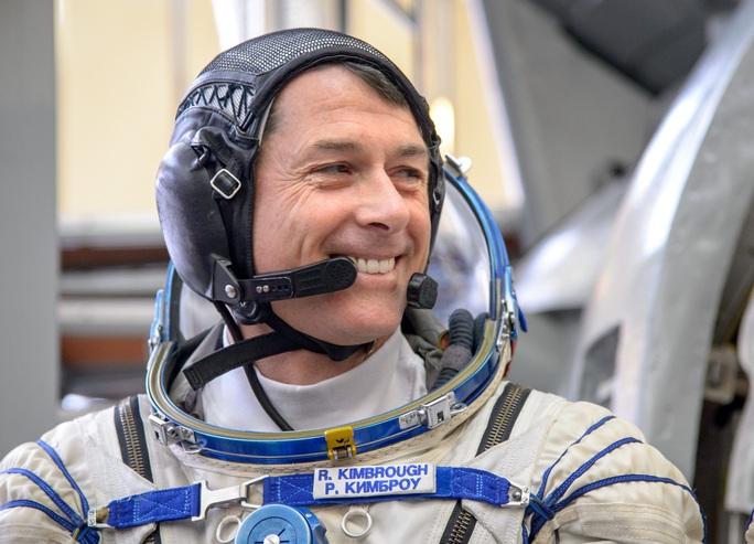 Phi hành gia người Mỹ Shane Kimbrough. Ảnh: NASA