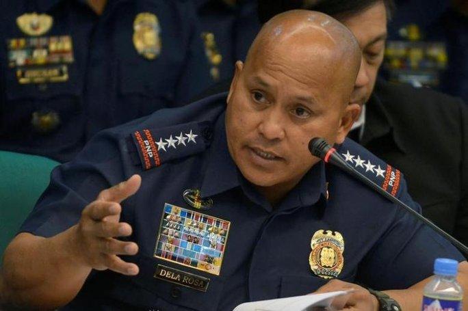 Cảnh sát trưởng quốc gia Philippines (PNP) Dela Rosa. Ảnh: REUTERS