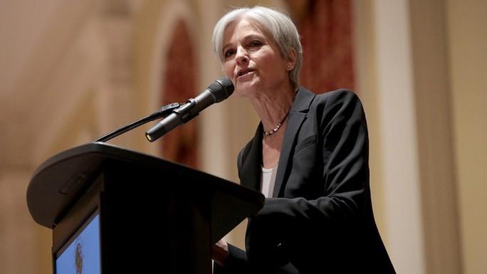 Ứng viên Đảng Xanh Jill Stein. Ảnh: THE HILL