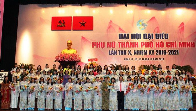 Ban Chấp hành Hội LHPN TP HCM nhiệm kỳ 2016-2021