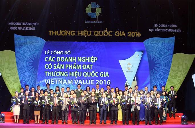 88 doanh nghiệp đạt danh hiệu Thương hiệu Quốc gia được vinh danh Ảnh: TTXVN