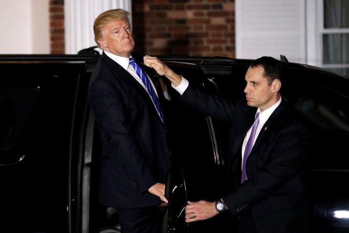 Ông Trump dành 2 ngày để gặp riêng truyền thông. Ảnh: Reuters