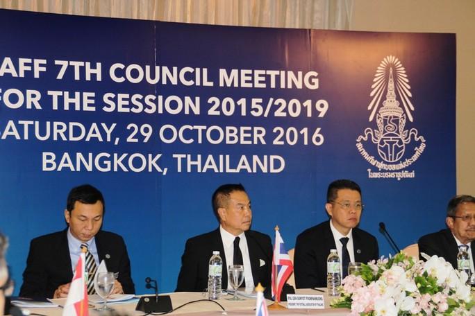 Cuộc họp của LĐBĐ Đông Nam Á hôm 29-10 bàn về việc các nước chung tay đấu thầu đăng cai World Cup