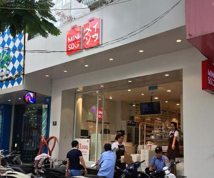 Cửa hàng Miniso vừa được khai trương tại Hà Nội. Ảnh: Nikkei