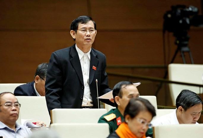ĐB Nguyễn Ngọc Phương: Thậm chí có những địa phương cán bộ lợi dụng việc xây dựng nông thôn mới nên đã tham ô, tham nhũng-Ảnh:Quochoi.vn