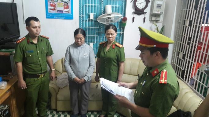 Đọc lệnh bắt bà Nguyễn Thị Phượng