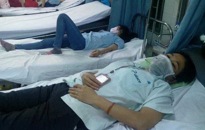 Một số trường hợp tối 9-12 còn đang được điều trị tại Bệnh viện quận 7