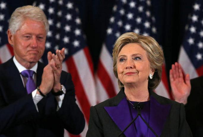 Vợ chồng cựu Tổng thống Bill Clinton. Ảnh: CBS NEWS