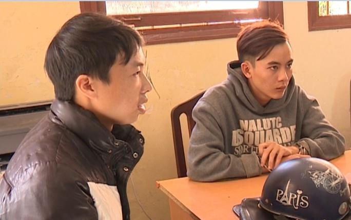 Tuấn và Thanh bị Công an tỉnh Lâm Đồng tạm giữ để tiến hành điều tra làm rõ.