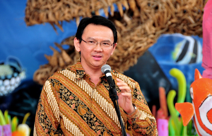 Thống đốc Jakarta Basuki Tjahaja Purnama. Ảnh: PROFIL BOS