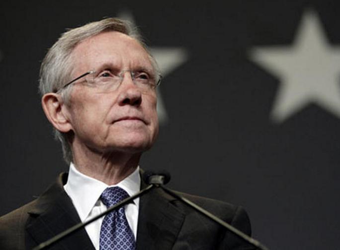 Lãnh đạo phe thiểu số của đảng Dân chủ tại Thượng viện Harry Reid. Ảnh: CBS NEWS