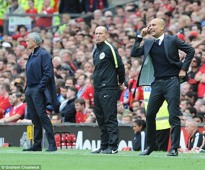 Mourinho - Pep Guardiola - đại chiến tập 2