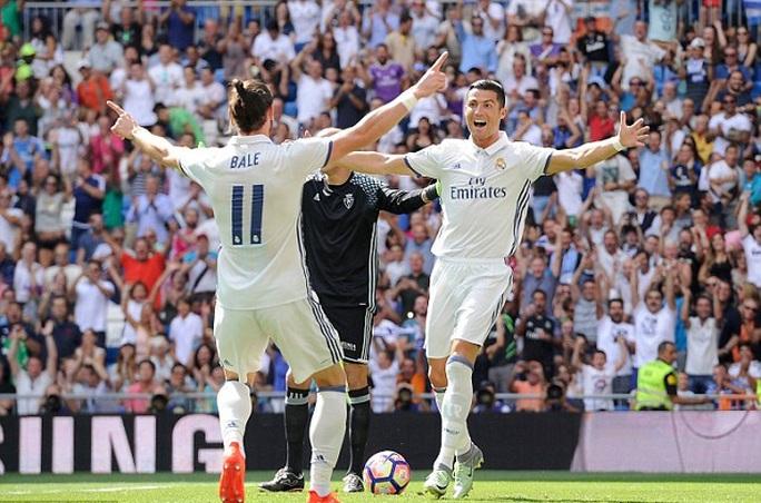 Bale và Ronaldo sẽ vắng mặt trong trận gặp Espanyol