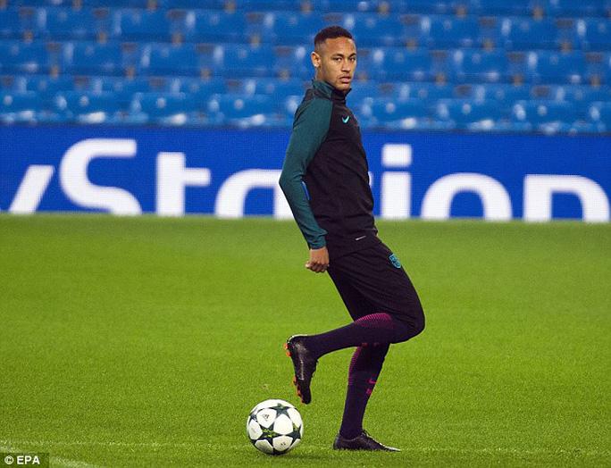Neymar và đồng đội tự tin trước trận gặp Man City