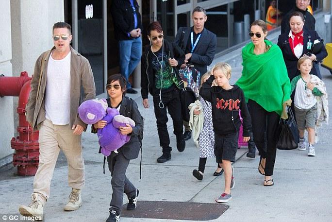 Họ từng là gia đình đáng ngưỡng mộ tại Hollywood