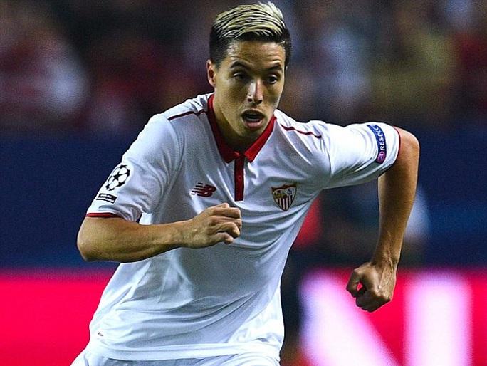 Nasri trong màu áo Sevilla