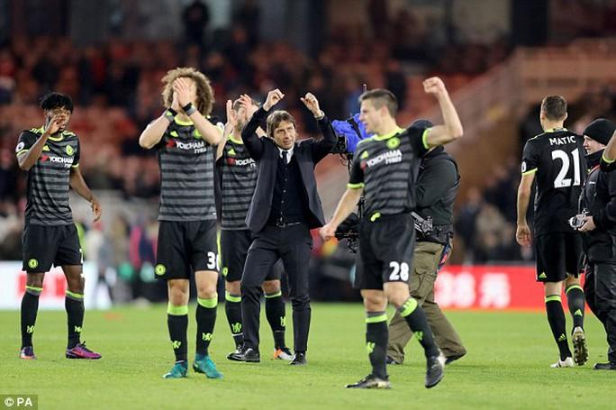 Conte cũng sốc với loạt 6 trận ấn tượng của Chelsea