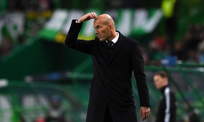 HLV Zidane lo lắng với chấn thương của Bale