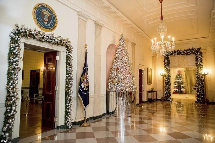 Một góc Nhà Trắng. Ảnh: AP