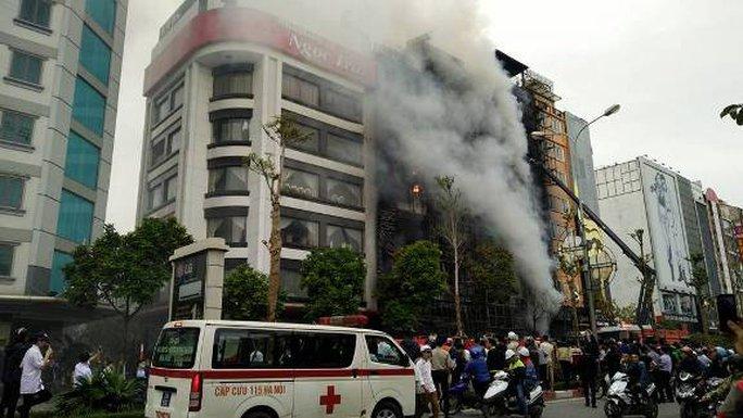 Vụ cháy ở Hà Nội: Đã có 13 người tử vong