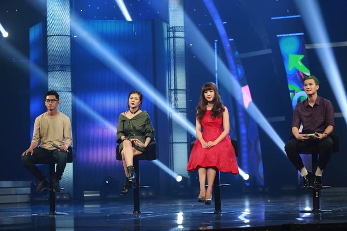 Bốn nghệ sĩ của bảng 1 vòng bán kết 2