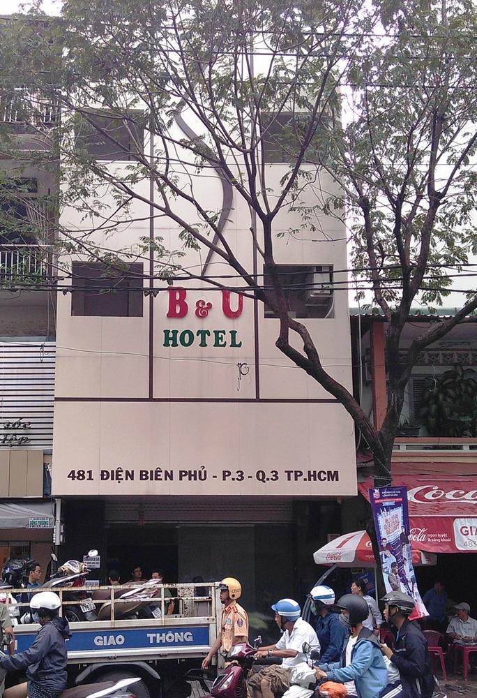 Khách sạn B&U nơi công an phát hiện nhiều người sử dụng ma túy