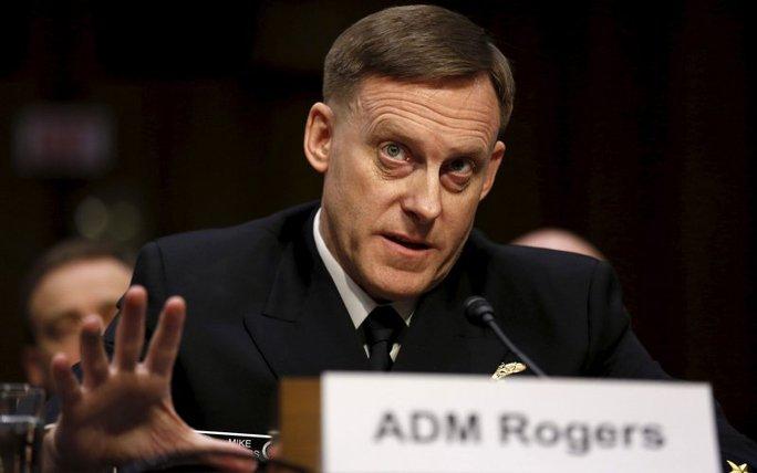 Giám đốc NSA Michael Rogers. Ảnh: Reuters