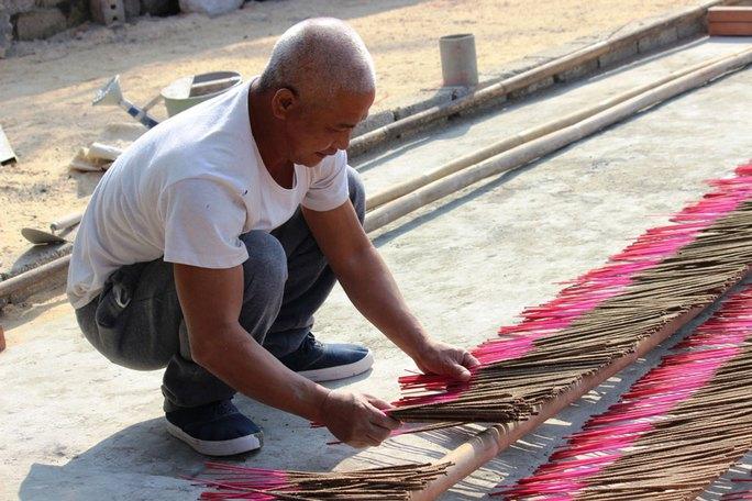 Làng nghề hương bài Bái Hạ đang được quy hoạch lại để phát triển