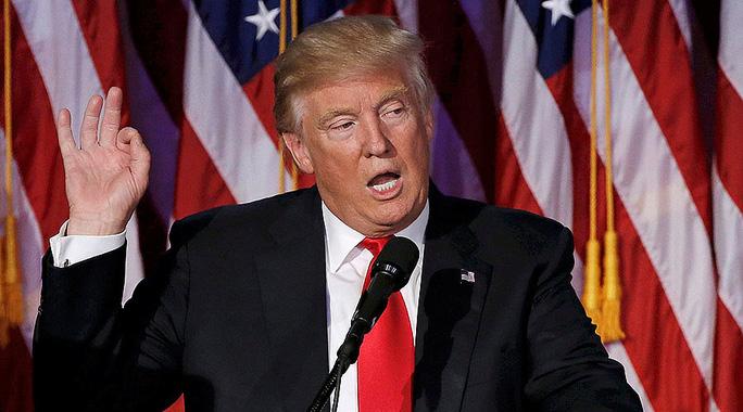 Tổng thống đắc cử Donald Trump. Ảnh: Reuters