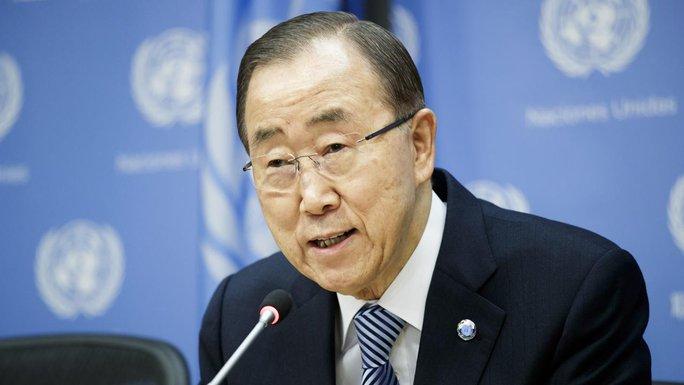 Tổng thư ký Liên Hiệp Quốc Ban Ki-moon. Ảnh: AAP