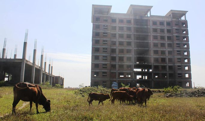 Trường ĐH Hoa Lư có mức đầu tư gần 427 tỉ đồng nhưng bỏ hoang nhiều năm nay