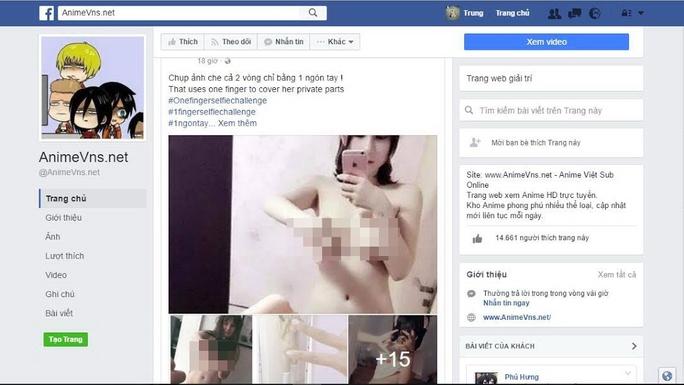 """Trào lưu chụp ảnh selfie """"1 ngón che trọn 2 vòng"""" đang lan rất nhanh trên mạng xã hội Ảnh: CHÁNH TRUNG"""