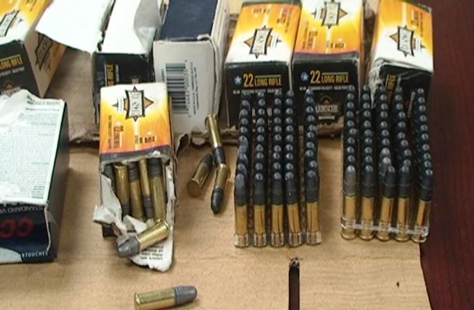 Tang vật là 700 viên đạn trái phép
