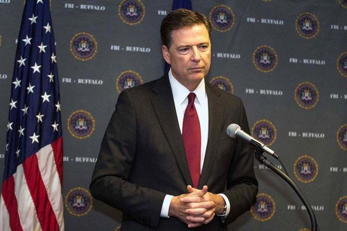 Tương lai của giám đốc FBI James Comey lành ít, dữ nhiều Ảnh: SNOPES.COM
