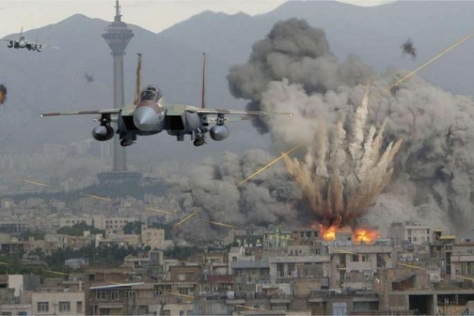 Nga cho rằng không quân nước này giúp Syria không bị mất hoàn toàn vào tay IS, Ảnh: GAZETA