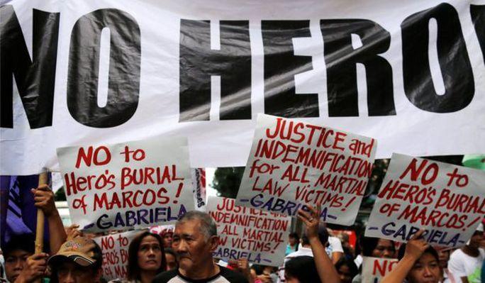 Ông Marcos gây chia rẽ sâu sắc tại Philippines. Ảnh: Reuters