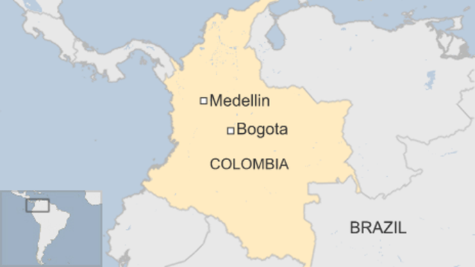 Medellon, nơi xảy ra vụ tai nạn