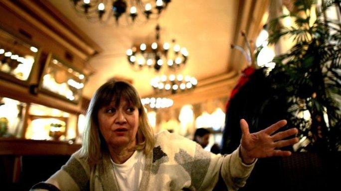 Bà Vesna Vulovic. Ảnh: AP