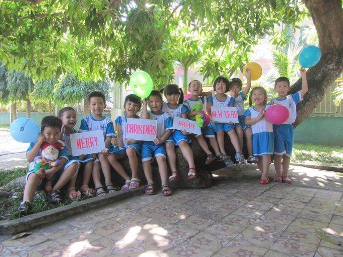 Các en học sinh của Làng SOS Gò Vấp - TPHCM