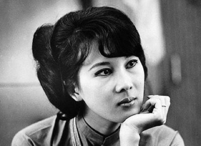 Bà Đặng Tuyết Mai lúc còn trẻ