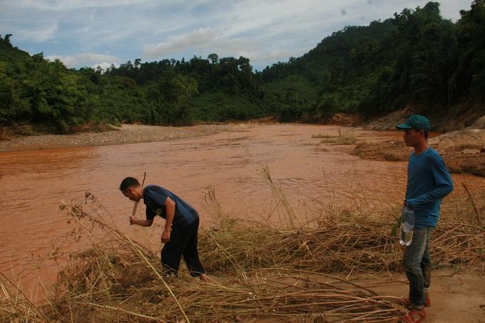 Sông Bung nơi anh Ghiu mất tích