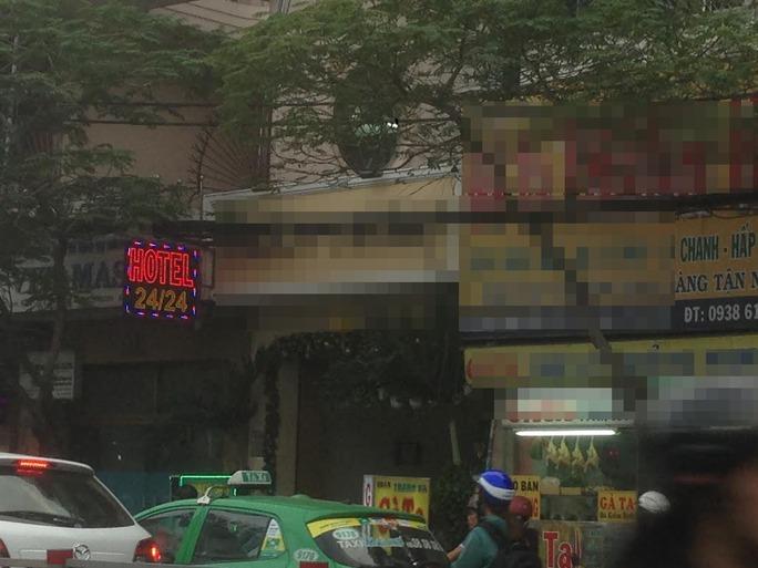 Khách sạn nơi ông Đ. bị tử vong