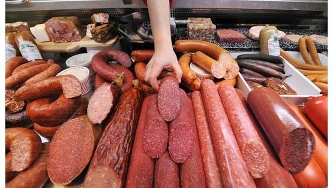 Thịt chế biến sẵn thường có hàm lượng nitrite cao Ảnh: THE INDEPENDENT