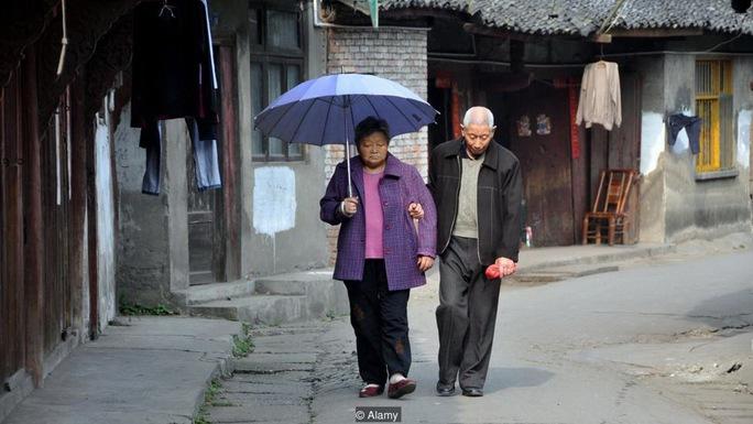 Liên Hiệp Quốc ước tính có khoảng 360 triệu người Trung Quốc ở độ tuổi trên 60 vào năm 2030 Ảnh: ALAMY