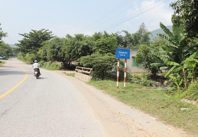 Khu vực thôn Hoa nơi sắp xây dựng nhà máy thép Việt Pháp