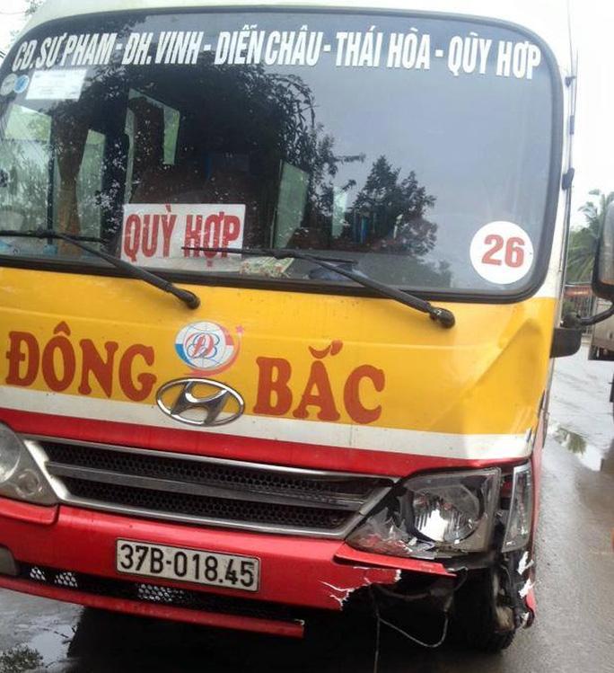 Chiếc xe buýt gây tai nạn tông chết ông Trương Quang Lập, Bí thư Đảng úy xã Thọ Hợp