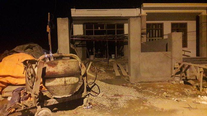 Ngôi nhà nơi xảy ra vụ án mạng chủ nhà đâm chết người thợ xây