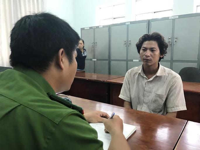 Trương Hoàng Hảo tỏ ra hoảng hốt khi được công an thông báo nạn nhân đã tử vong