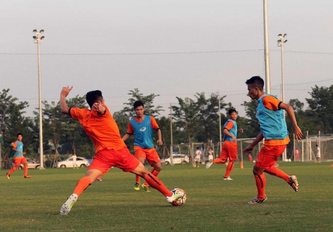 U22 Việt Nam tập luyện tích cực để chuẩn bị cho trận gặp chủ nhà U22 Trung Quốc