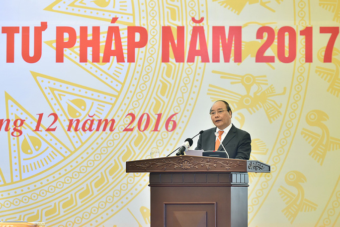 Thủ tướng Nguyễn Xuân Phúc phát biểu tại hội nghị